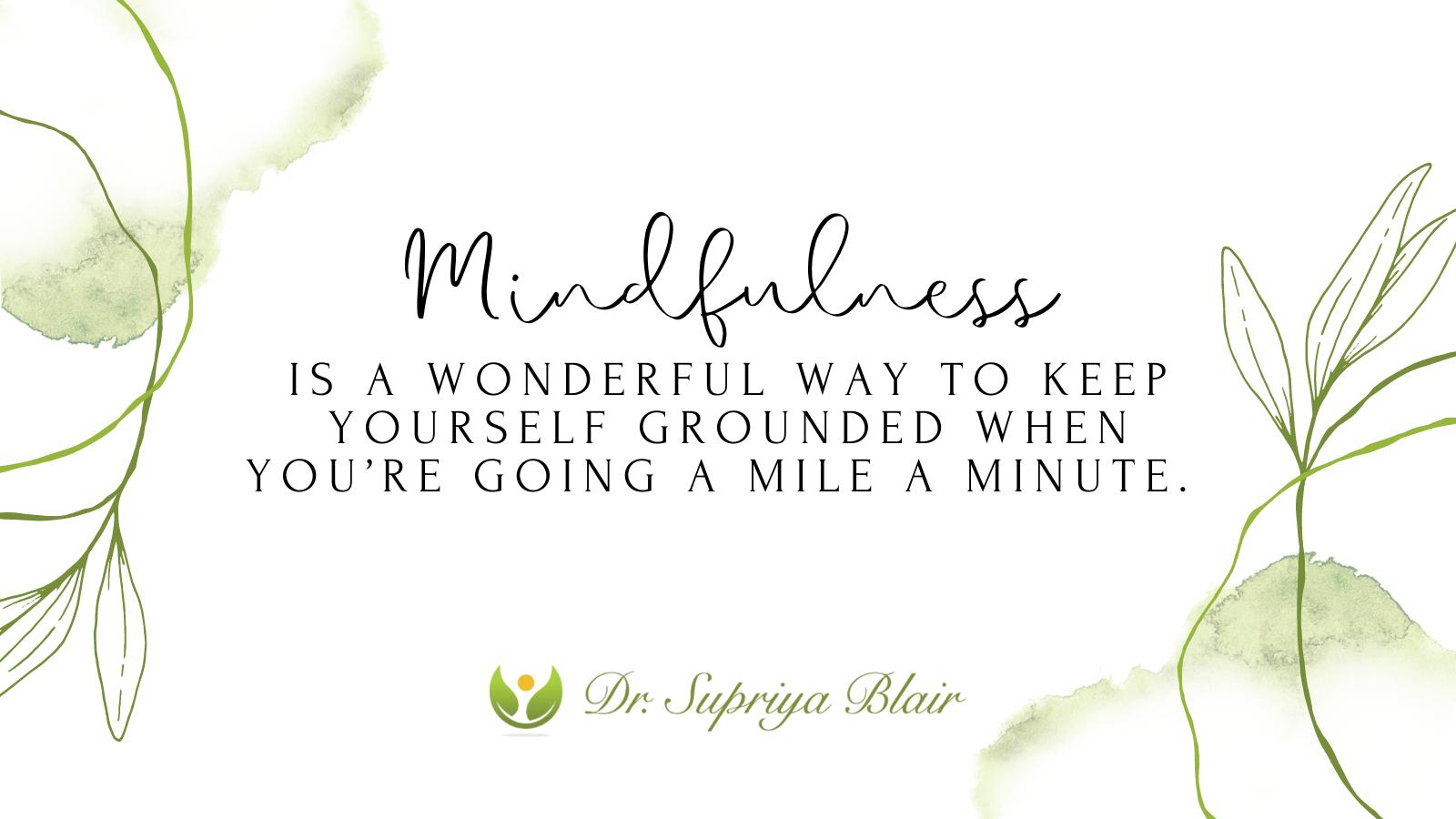 Stress/Mindfulness