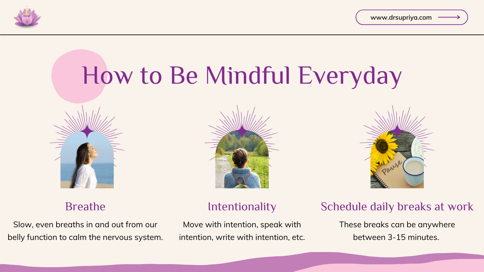 How to Be Mindful Everyday